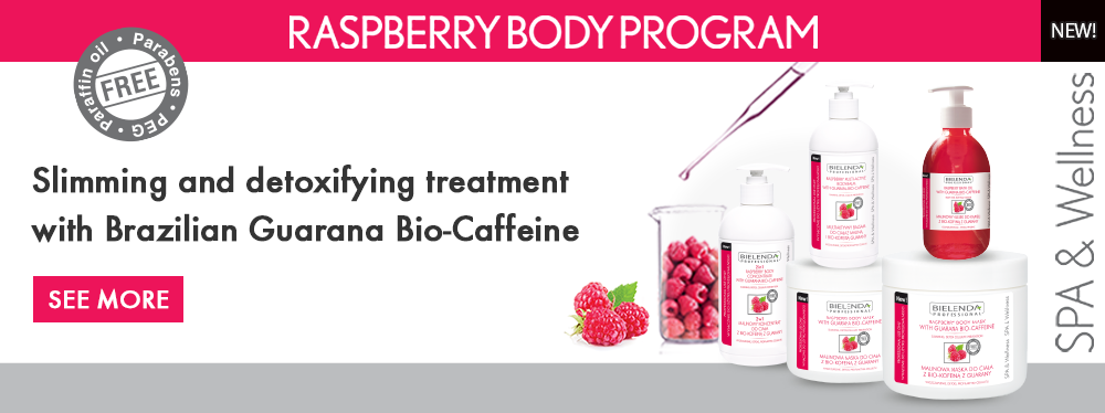 Raspberry Body Program Slimming and detoxifying treatment with Brazilian Guarana Bio-Caffeine