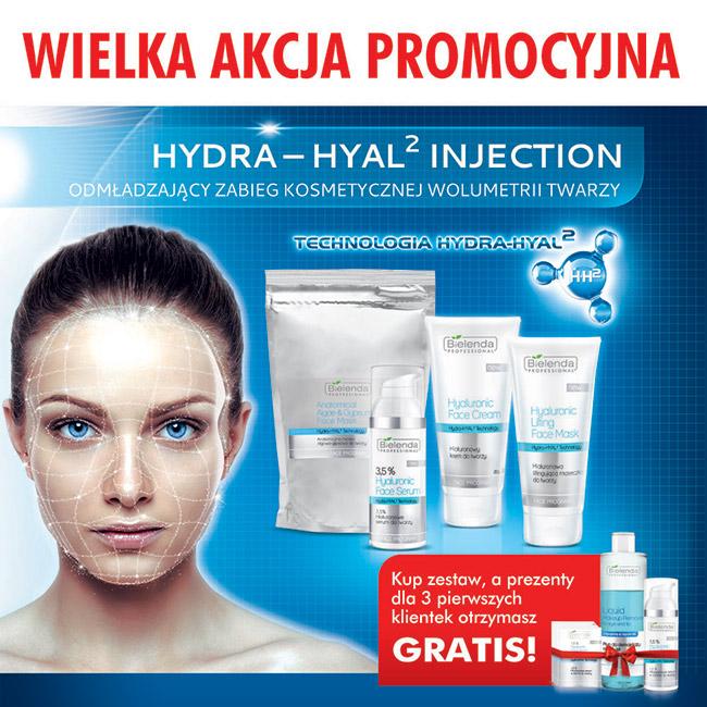 WIELKA AKCJA PROMOCYJNA - HYDRA-HYAL2 INJECTION