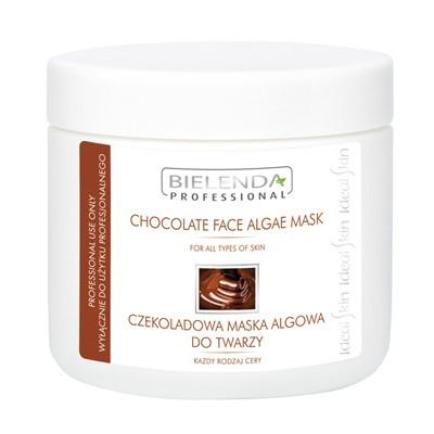 czekoladowa maska alogwa do twarzy