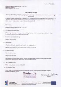 Nabór ofert na zakup wiz na pobyt w Rosji podczas targów Intercharm Moskwa 2013.