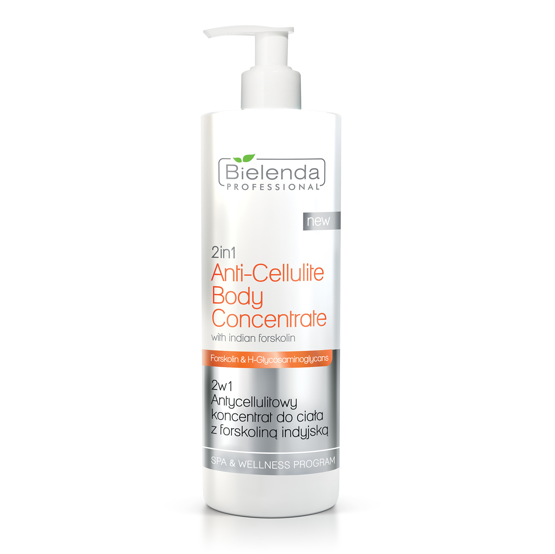 Bielenda professional - 2in1 Anti Cellulite Body Concentrate With Indian Forskolin